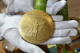 最重的奥运金牌,里约奥运会金牌(500克)