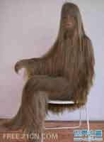世界上最长的体毛